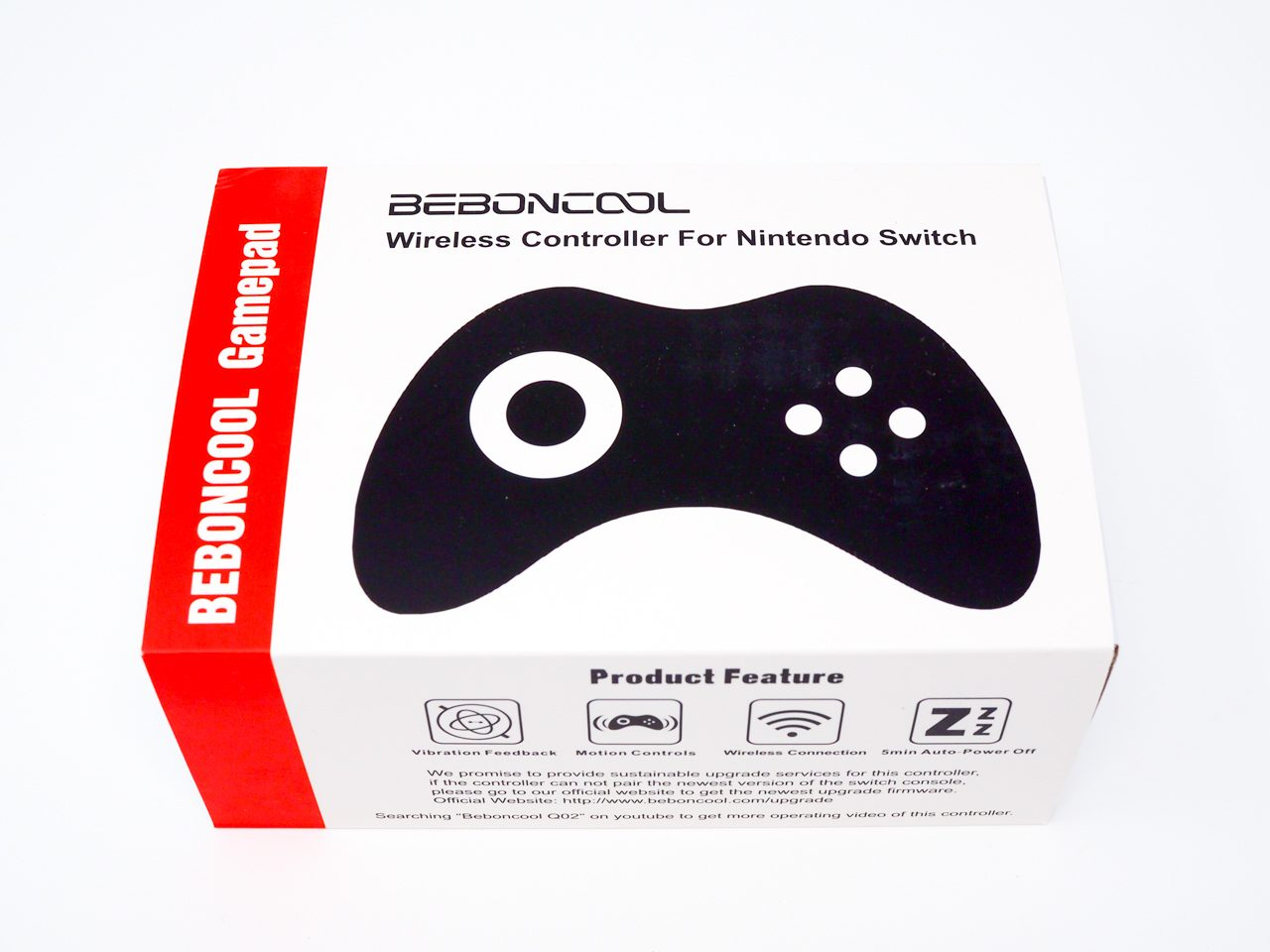 BEBONCOOLのNintendo Switch対応コントローラー